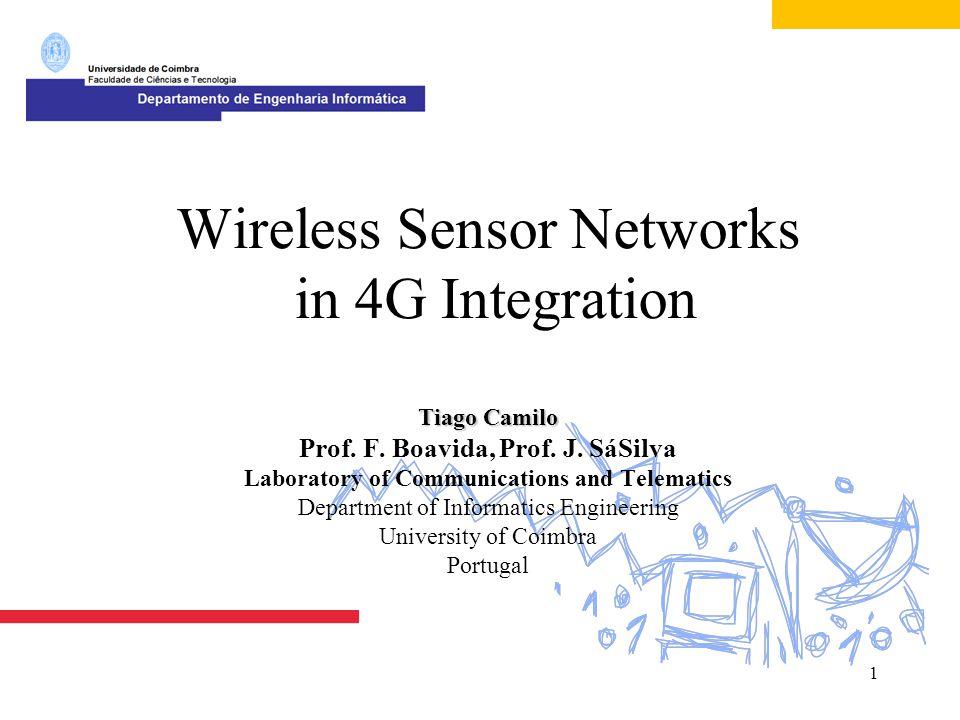 22 Evaluation Studies  Simulation  NRL s Sensor Network Extension to NS-2*  Testbed  Tests in real scenarios (ScatterWeb platform**) *http://nrlsensorsim.pf.itd.nrl.navy.mil/**http://www.scatterweb.com/