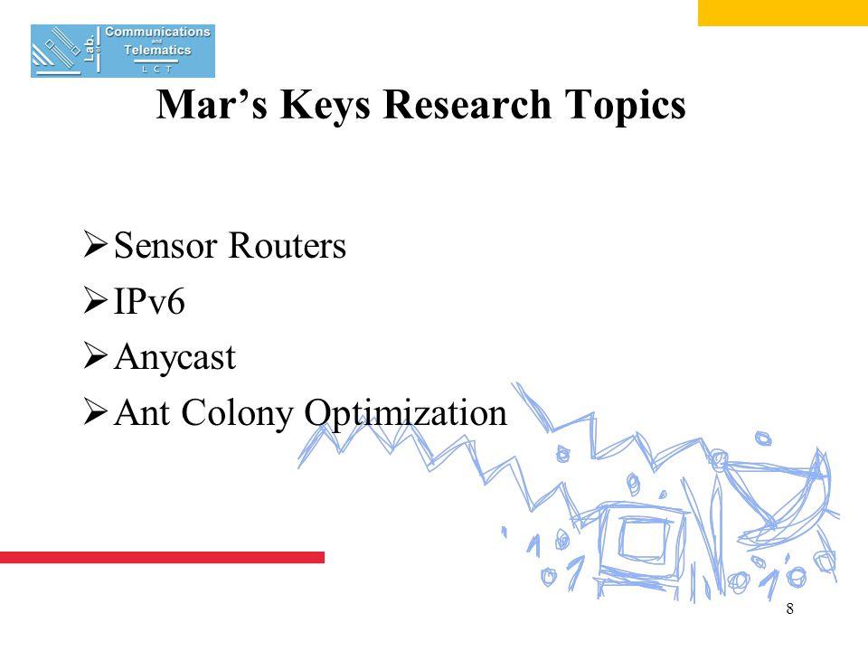 19 IPv6 Auto-configuration  Network Prefix  Anycast Identifier  Mac Address