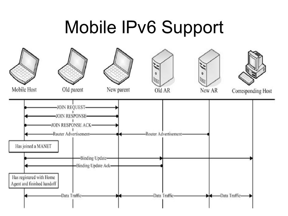 30 Mobile IPv6 Support