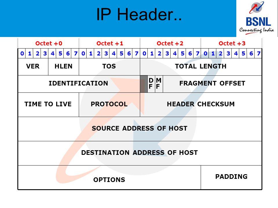 IP Header..