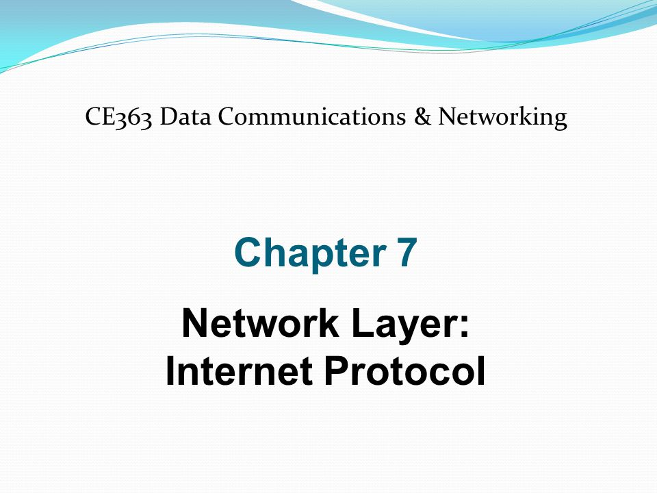 Position of IPv4 in TCP/IP protocol suite IPv4 is an unreliable and connectionless datagram protocol.