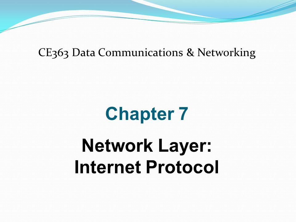 IPv4 datagram format IPv4 Datagram 32 20-65,535 bytes