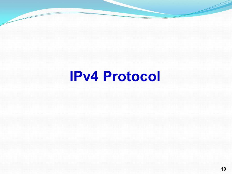 IPv4 Protocol 10