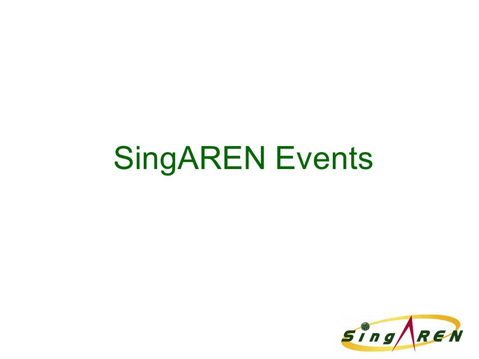 SingAREN Events