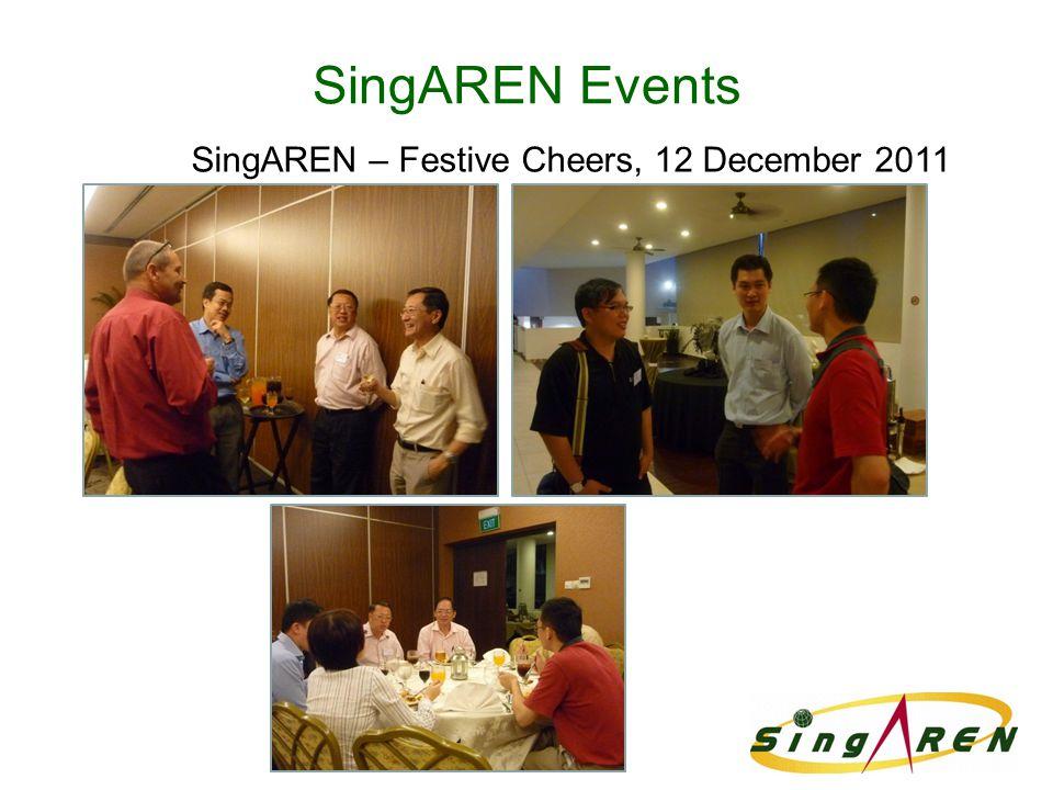 SingAREN Events SingAREN – Festive Cheers, 12 December 2011