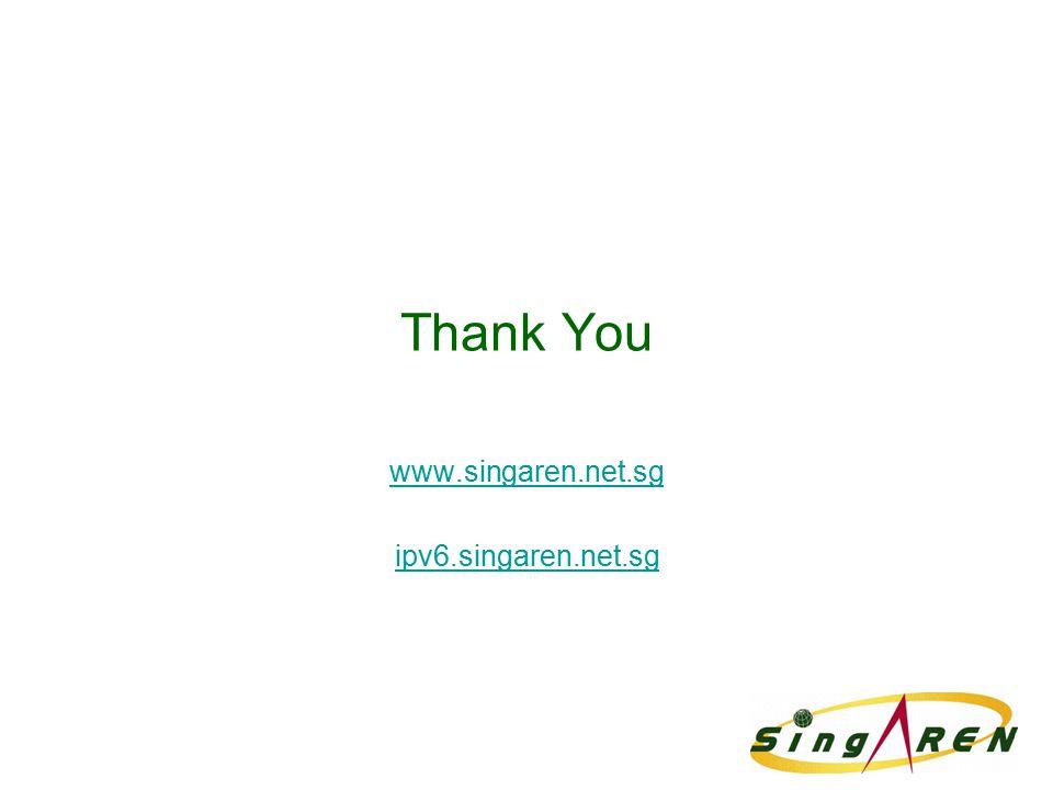 Thank You www.singaren.net.sg ipv6.singaren.net.sg