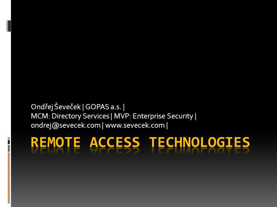 Ondřej Ševeček | GOPAS a.s. | MCM: Directory Services | MVP: Enterprise Security | ondrej@sevecek.com | www.sevecek.com |