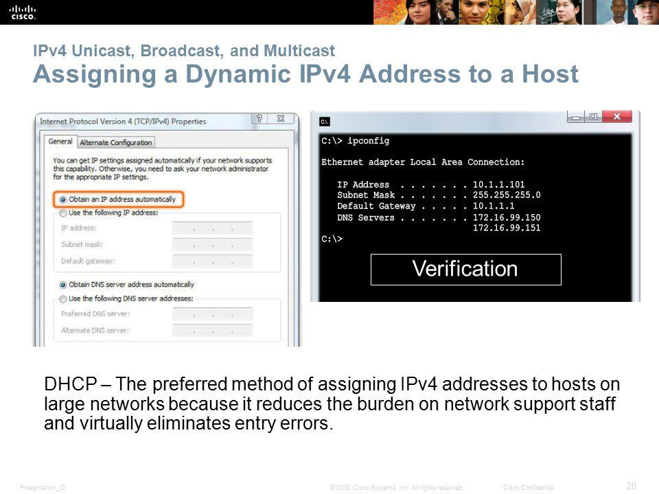 Presentation_ID 20 © 2008 Cisco Systems, Inc.