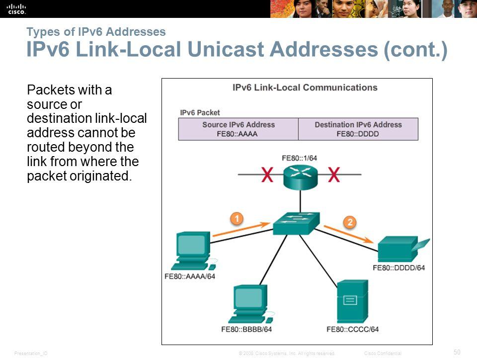 Presentation_ID 50 © 2008 Cisco Systems, Inc.