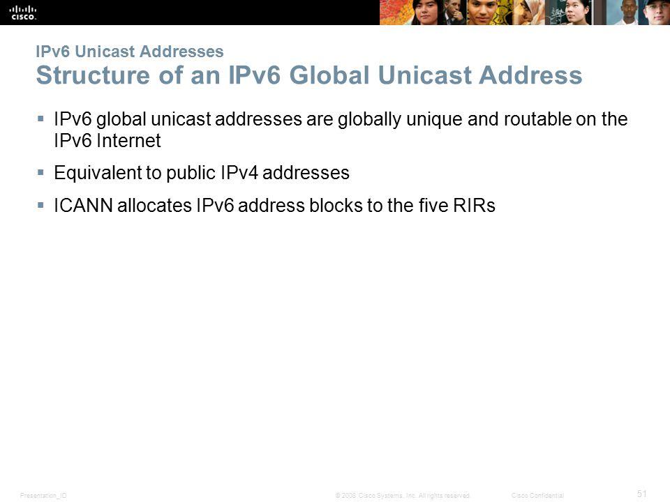 Presentation_ID 51 © 2008 Cisco Systems, Inc.