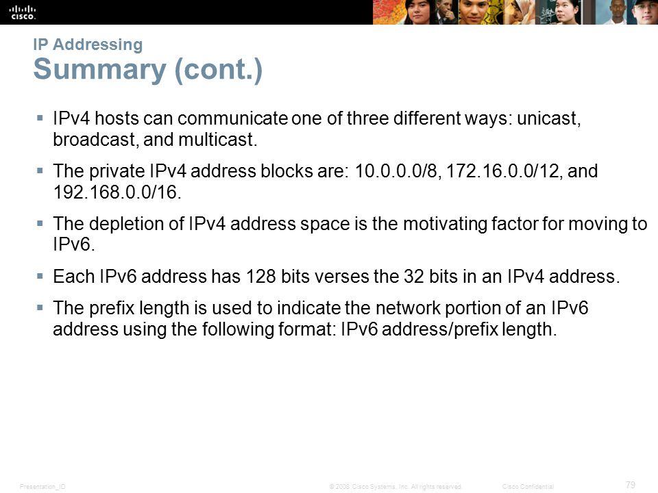 Presentation_ID 79 © 2008 Cisco Systems, Inc.