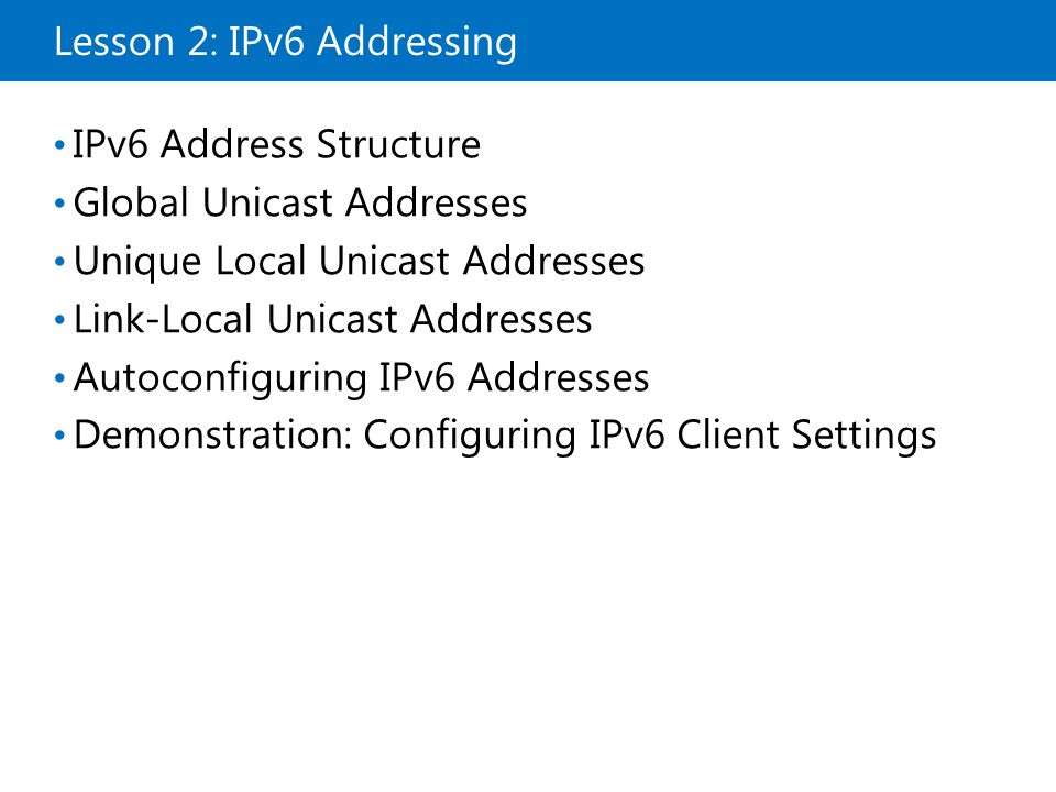 Lab Review Did you configure IPv6 statically or dynamically in this lab.