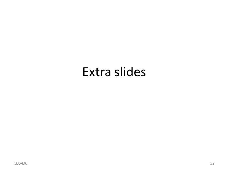 Extra slides CEG43652