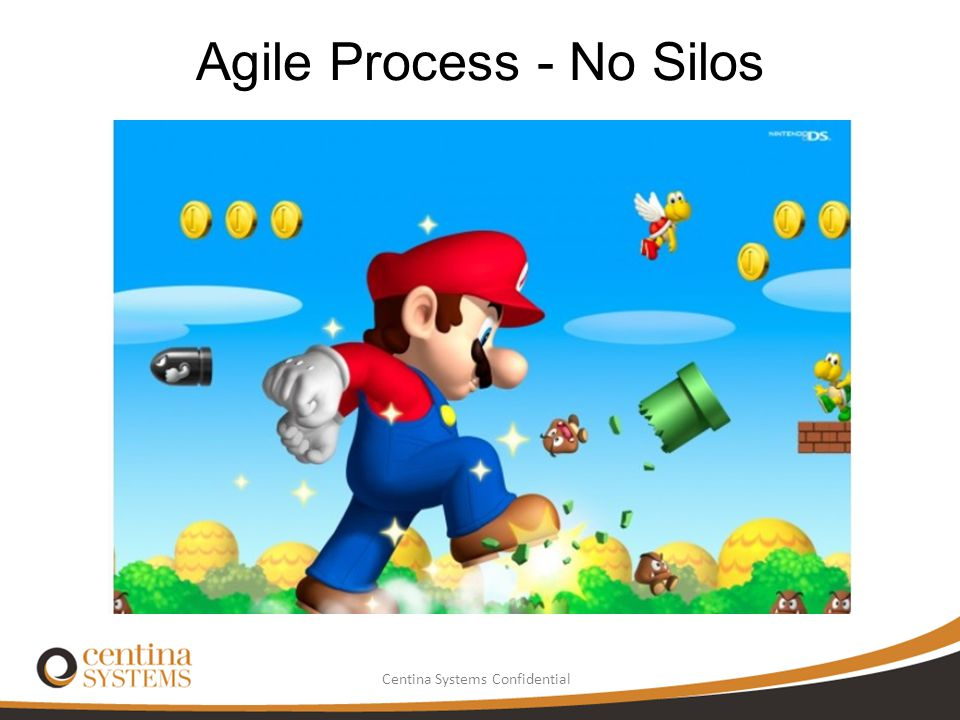 Centina Systems Confidential Agile Process - No Silos