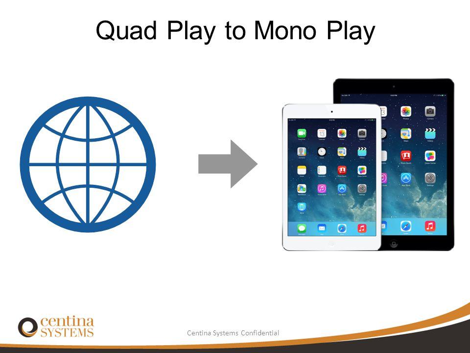 Quad Play to Mono Play