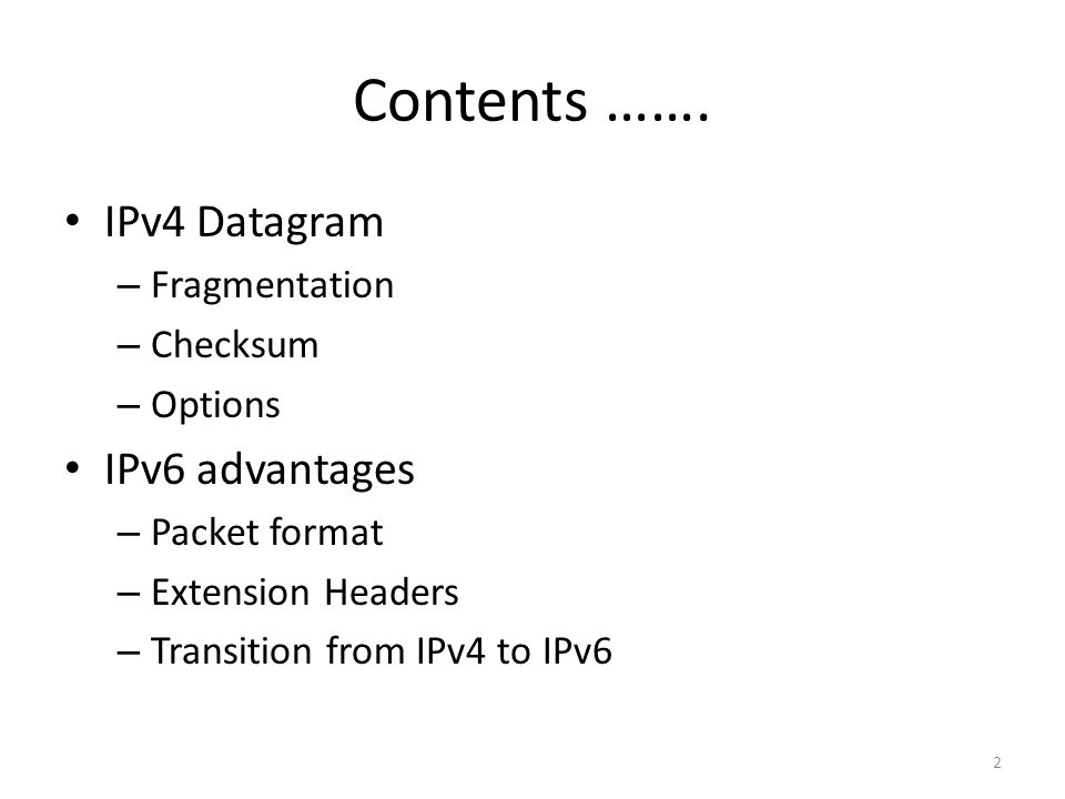 TRANSITION FROM IPv4 TO IPv6: Dual Stack It is recommended that all hosts, before migrating completely to version 6, have a dual stack of protocols.