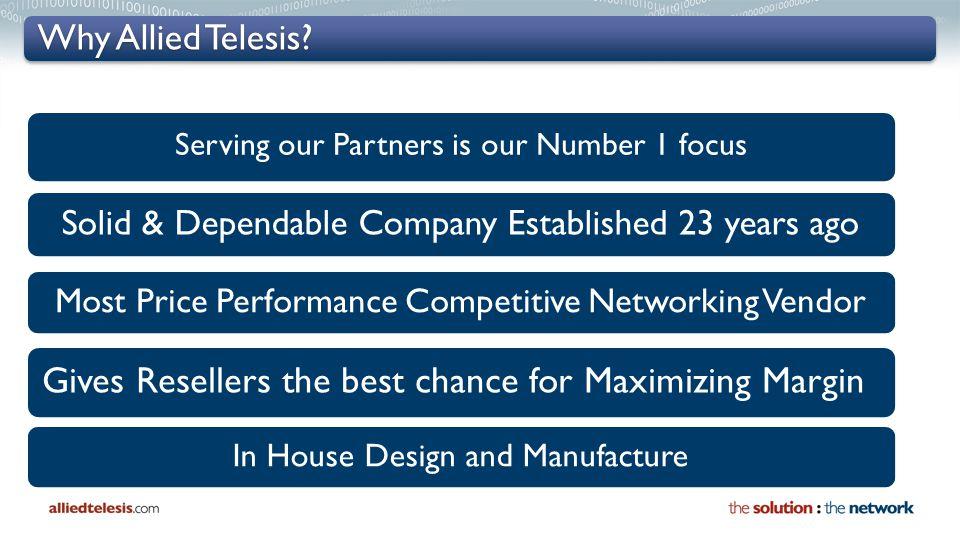Why Allied Telesis.