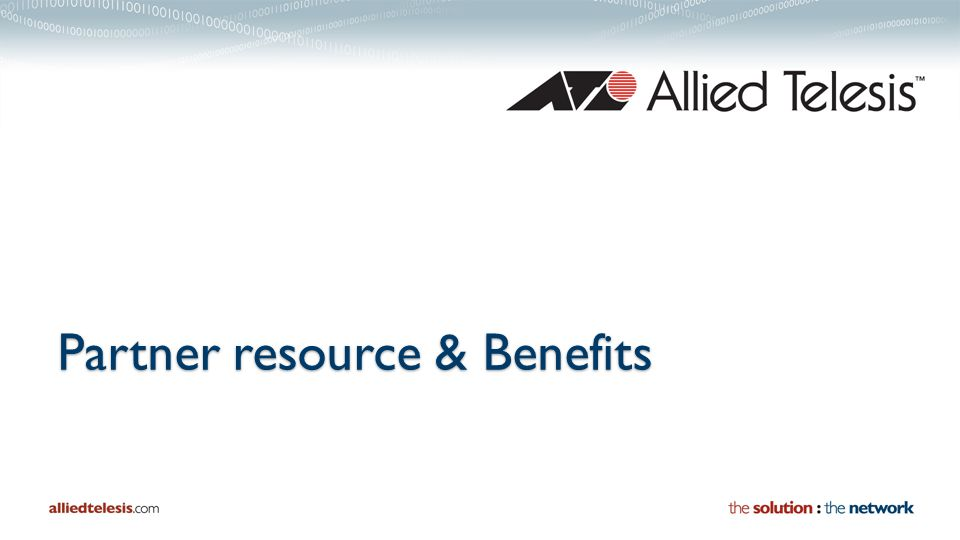 Partner resource & Benefits