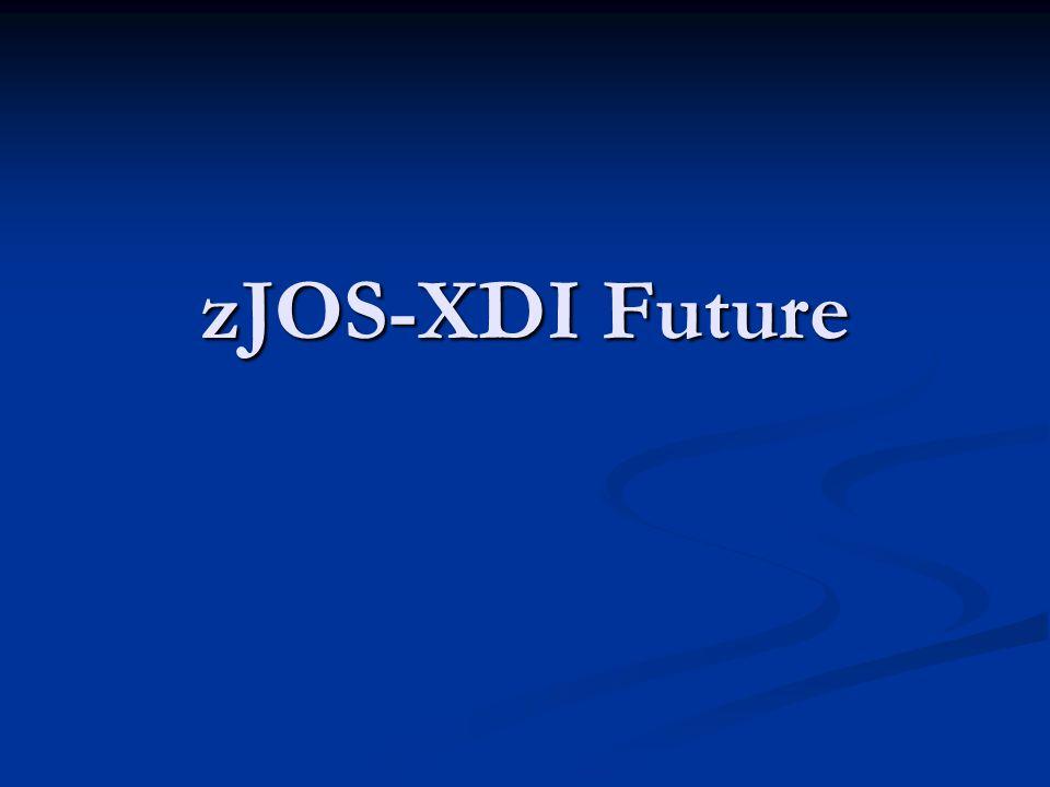 zJOS-XDI Future