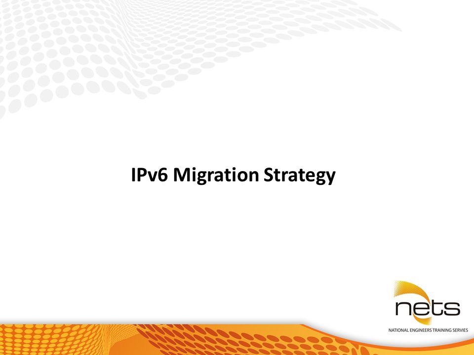 IPv6 Migration Strategy