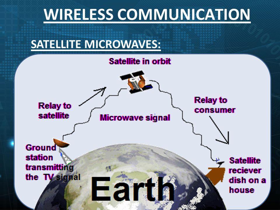 WIRELESS COMMUNICATION SATELLITE MICROWAVES:
