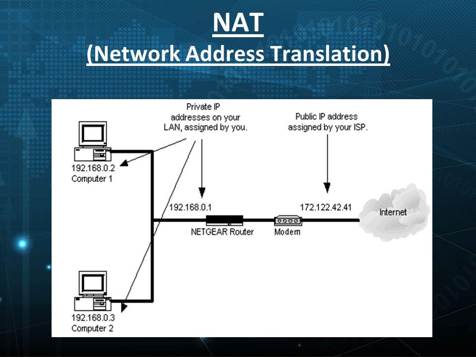 NAT (Network Address Translation)