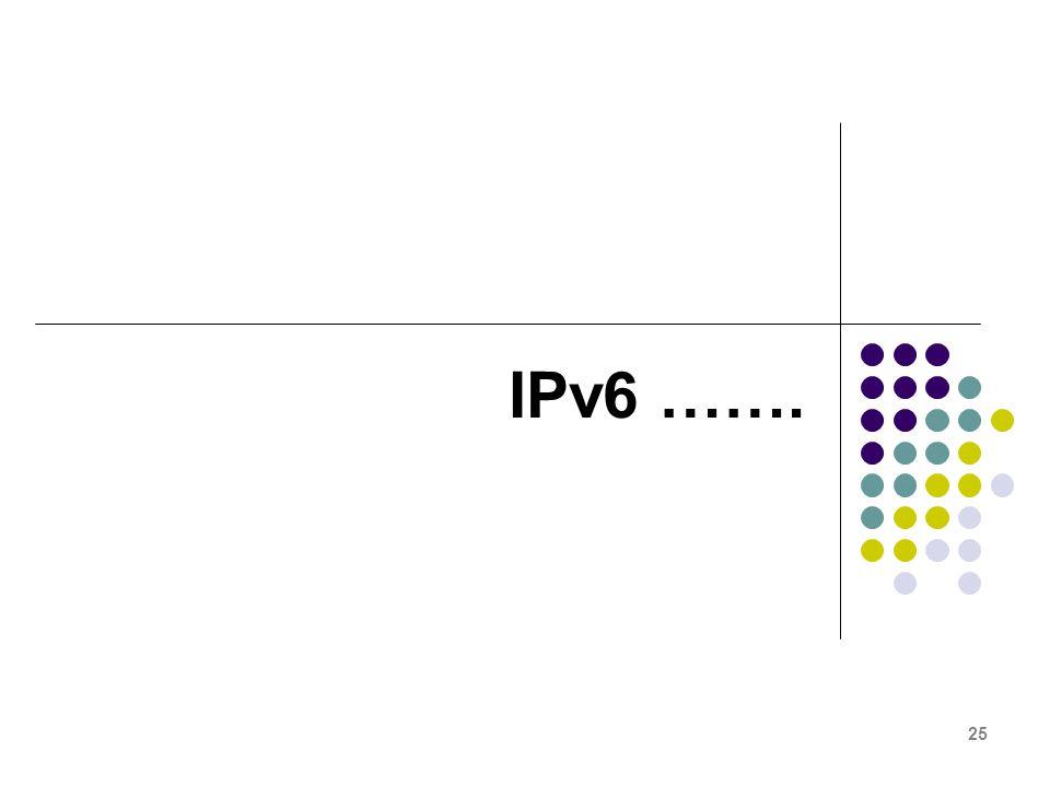 25 IPv6 …….