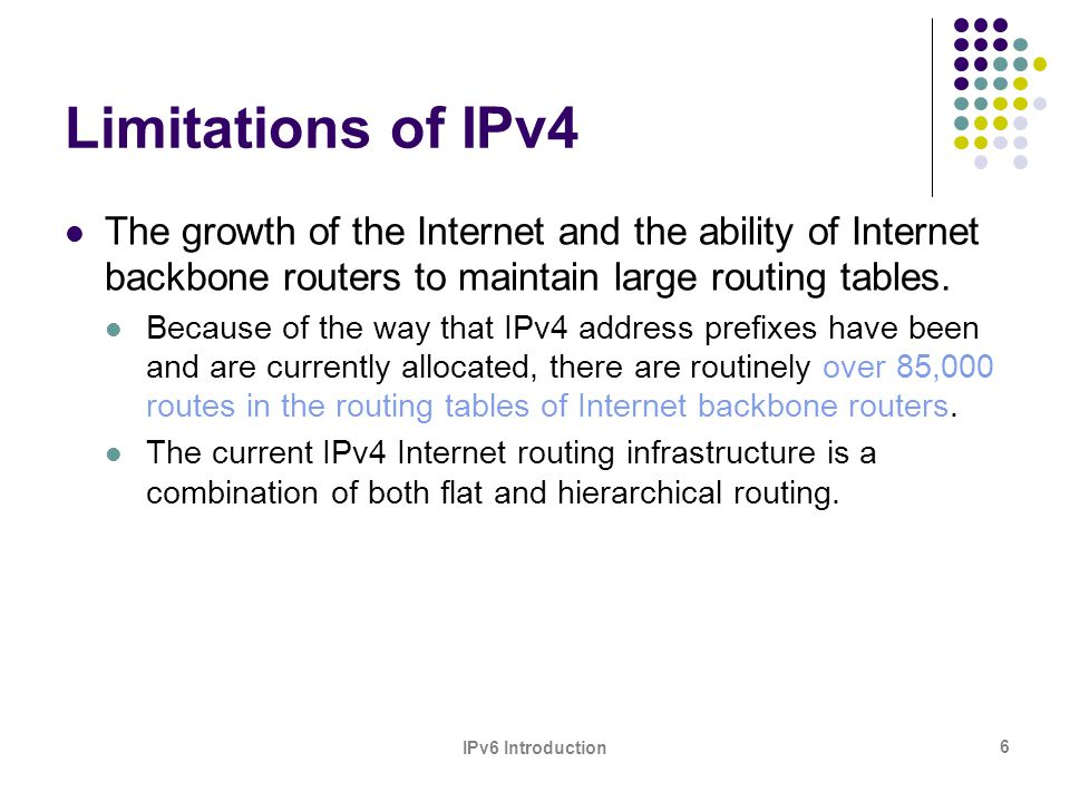 IPv6 Introduction 27 Architects of IPv6 Protocol Steven Deering and Robert Hinden