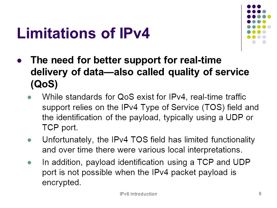30 What about IP Version 5 (IPv5) ?