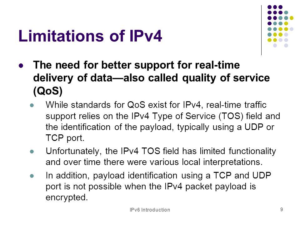 IPv6 Introduction 10 IPv4/8 Address Space Status (Sept.