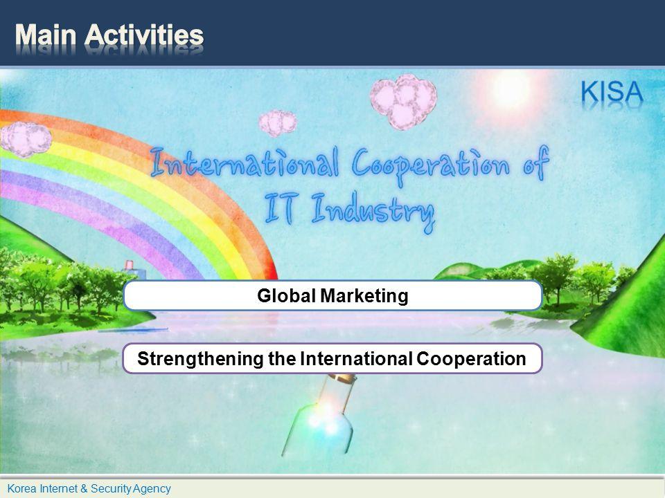 Global Marketing Strengthening the International Cooperation