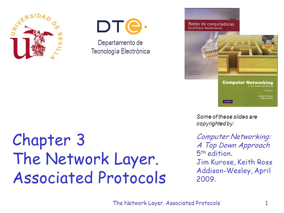 The Network Layer. Associated Protocols1 Chapter 3 The Network Layer.