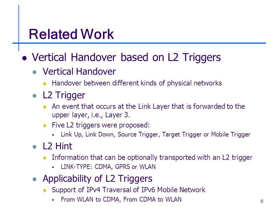 7 Main Idea Assumption Every WLAN subnet is IPv6 network.