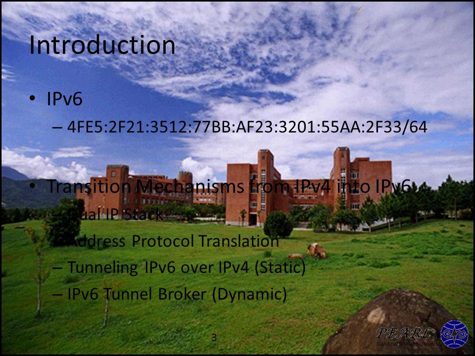 National Chi Nan University IPv6 Tunnel Broker RFC 3053 4