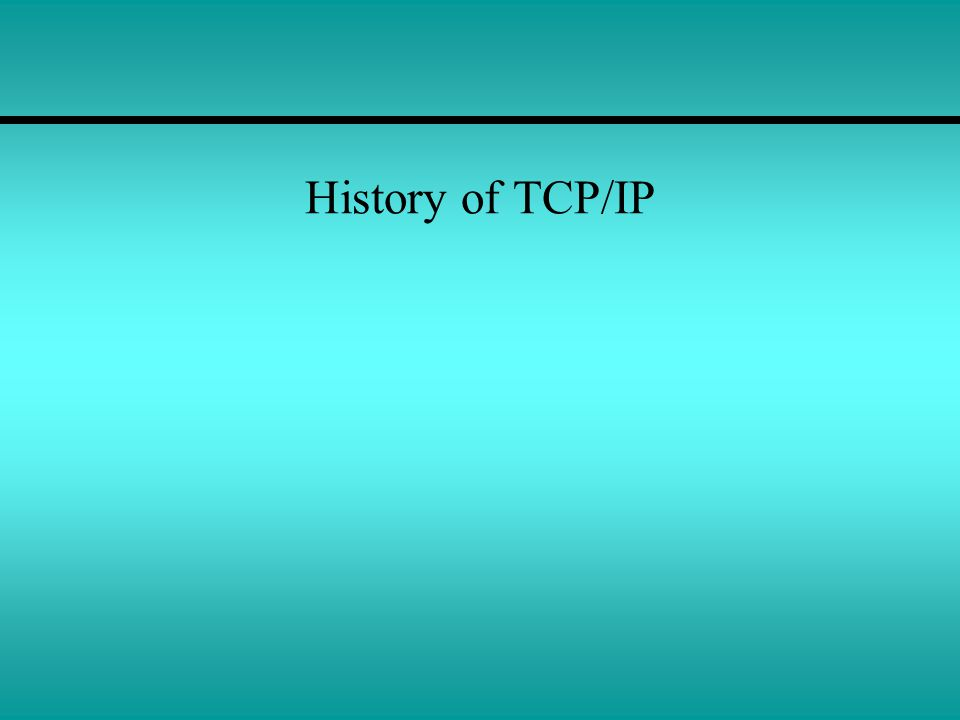 TCP/IP and Network Operating Systems Today, all NOS vendors have adopted the TCP/IP protocol suite for carrying data between client and server systems.