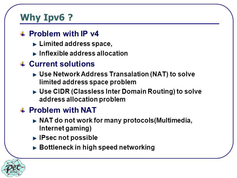 Why Ipv6 .