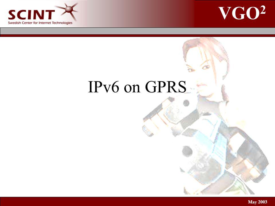 VGO 2 May 2003 IPv6 on GPRS