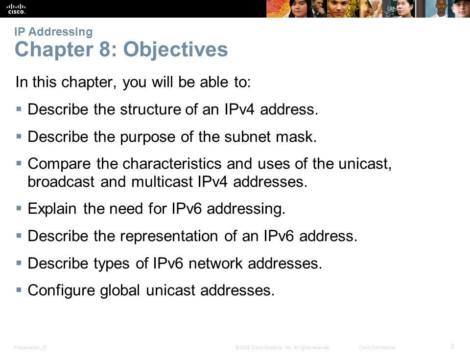 Presentation_ID 74 © 2008 Cisco Systems, Inc.