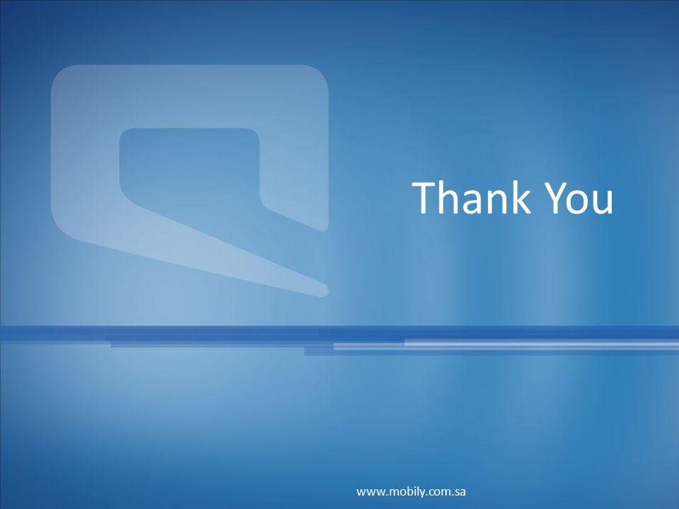 Thank You www.mobily.com.sa
