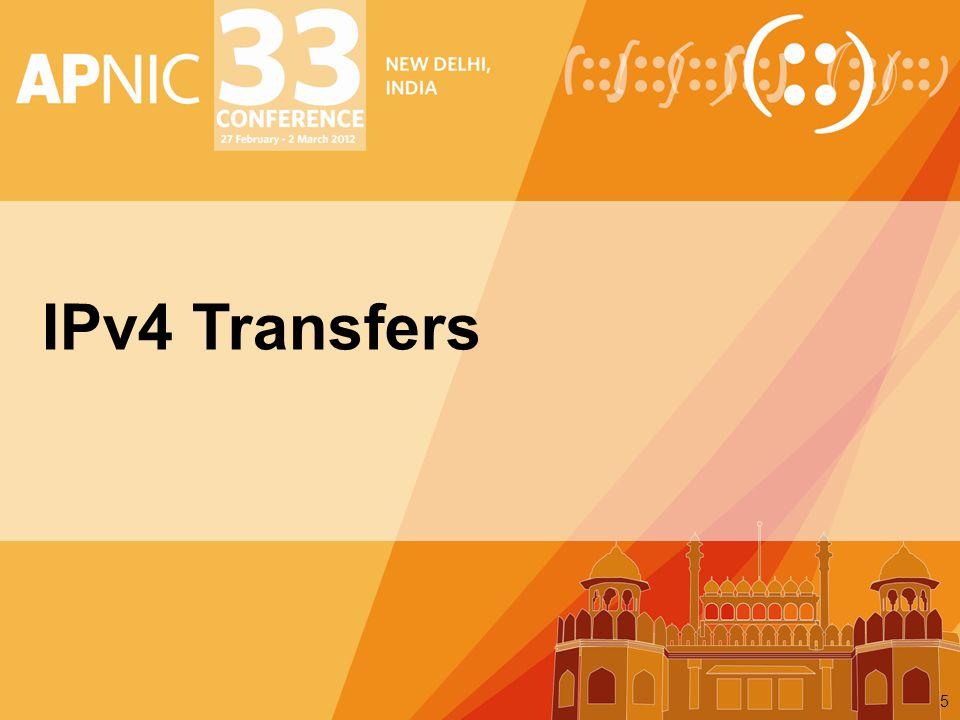 IPv4 Transfers 5