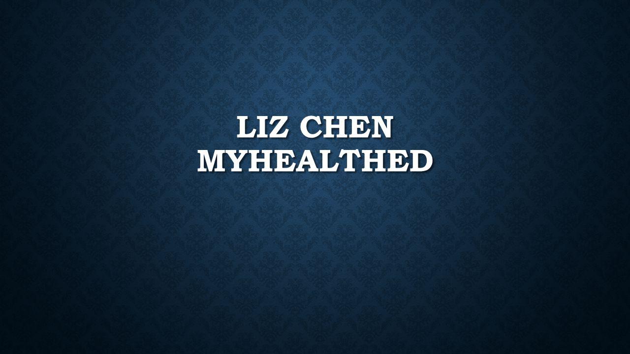 LIZ CHEN MYHEALTHED