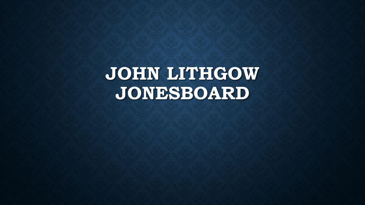 JOHN LITHGOW JONESBOARD