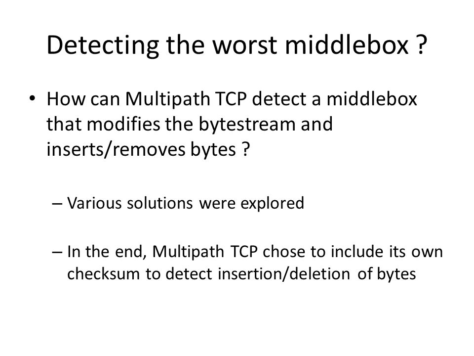 Detecting the worst middlebox .