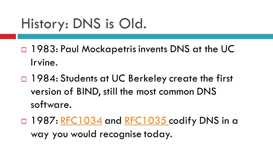 DNS: Like turtles all the way down.