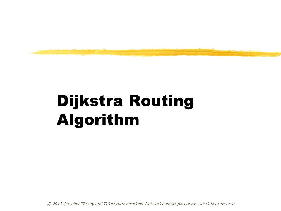 Dijkstra Routing Algorithm