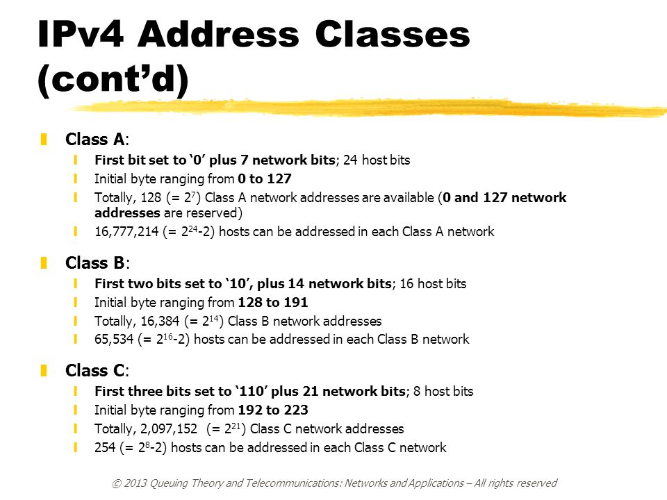 IPv4 Subnetting zDue to the explosive growth of the Internet, there is a strong need for an efficient use of IP addresses.