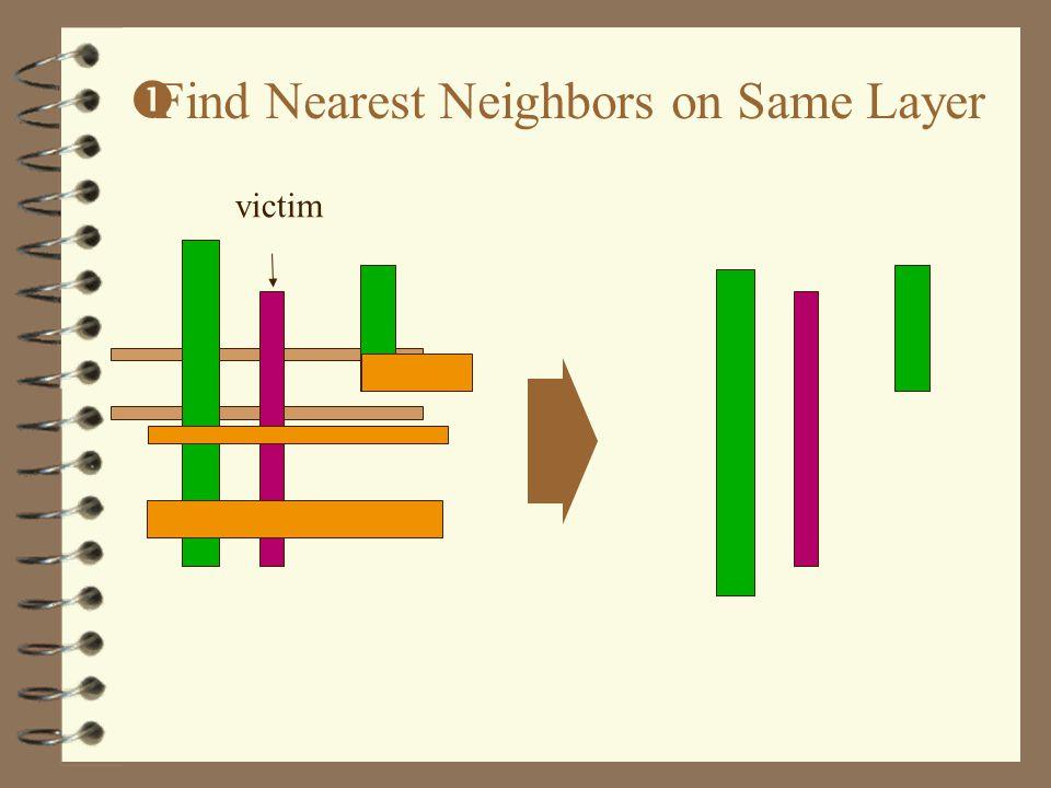 victim  Find Nearest Neighbors on Same Layer