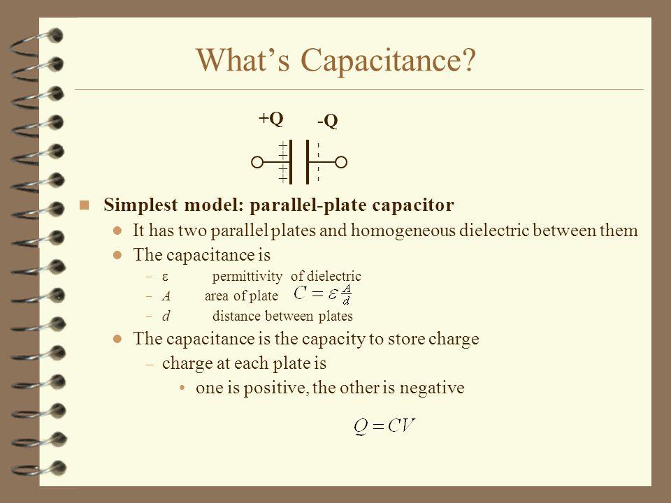 What's Capacitance.