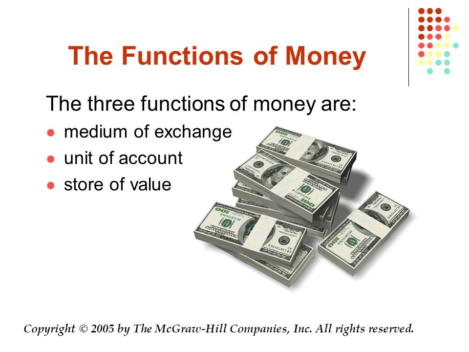 The Components of the Money Supply Two definitions of the U.S.