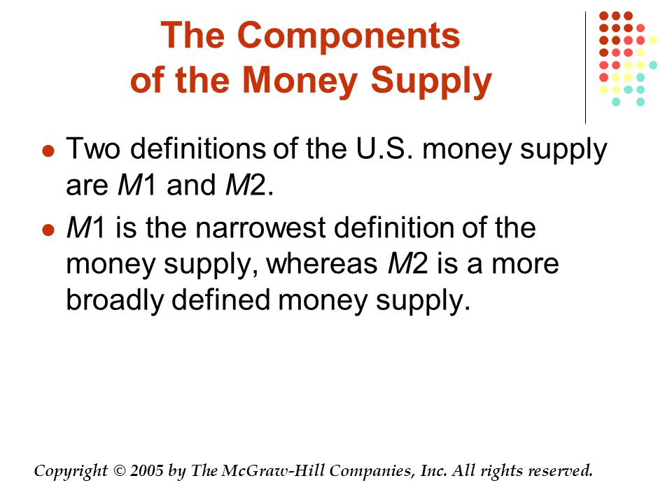 The Federal Reserve System and The Banking System Copyright © 2005 by The McGraw-Hill Companies, Inc.